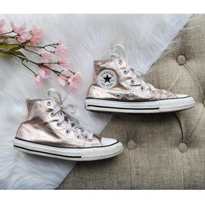 Girls Converse Pink One Star Sneakers